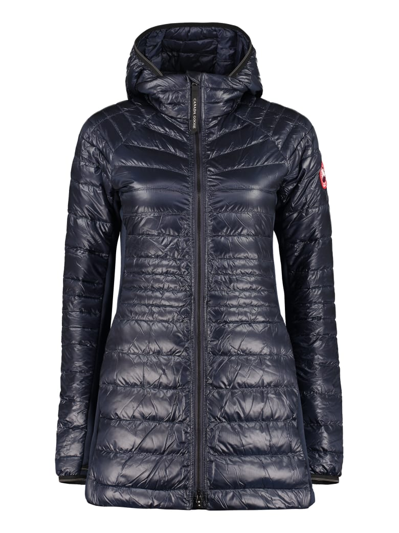 Canada Goose Hybridge Lite Hooded Techno Jacket - blue