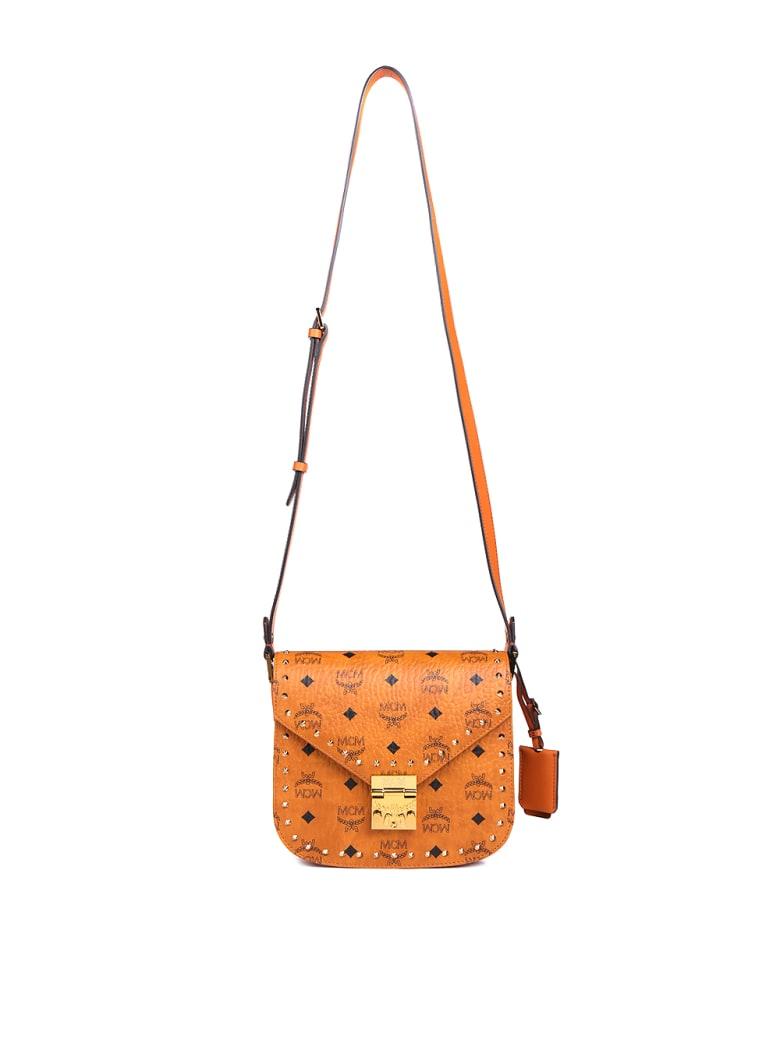 MCM Patricia Shoulder Bag - Cognac