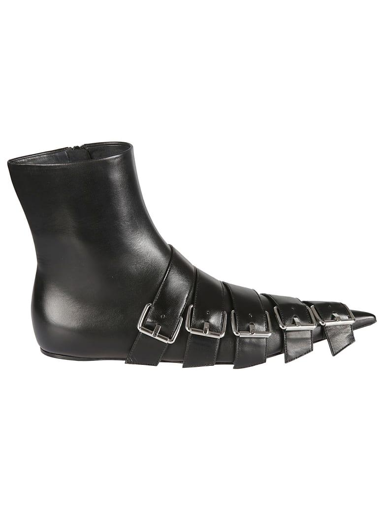 Balenciaga Buckle Boots - Nero