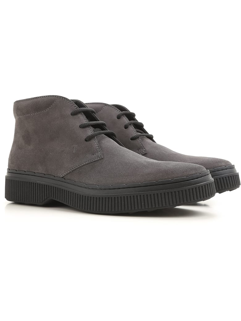 Tod's Boots - Anthracite