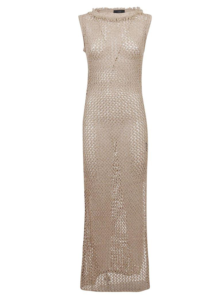 Alanui Long Dress - Dune Brown