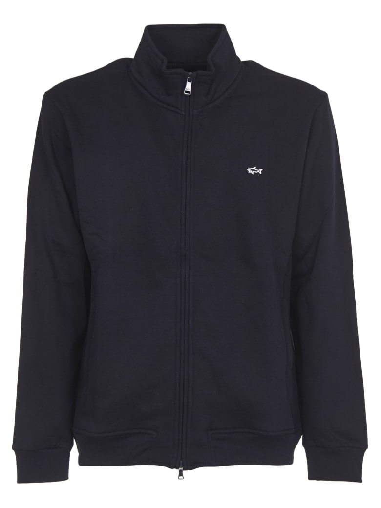 Paul&Shark Blue Open Sweatshirt - Blue