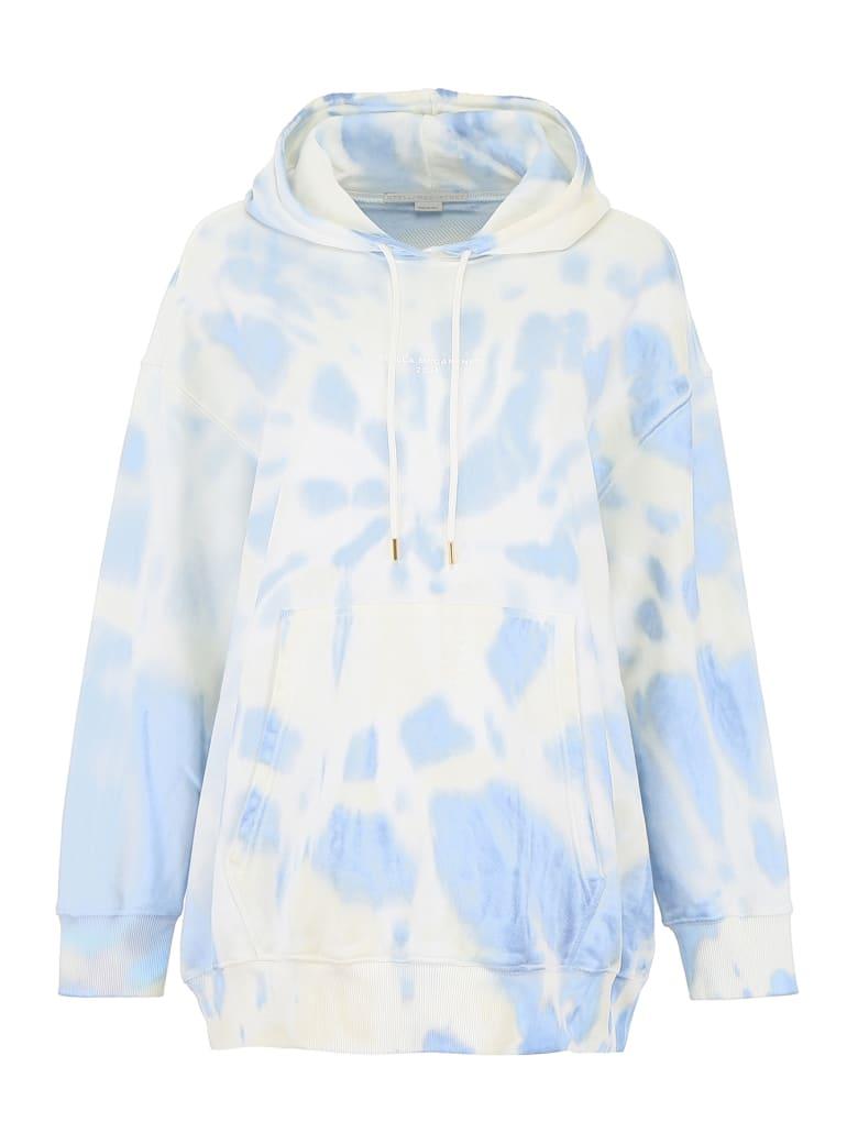 Stella McCartney Tie-dye Hoodie - INDIGO BLUE (White)