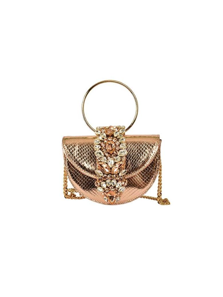 Gedebe Brigitte Shoulder Bag - Gold Rose