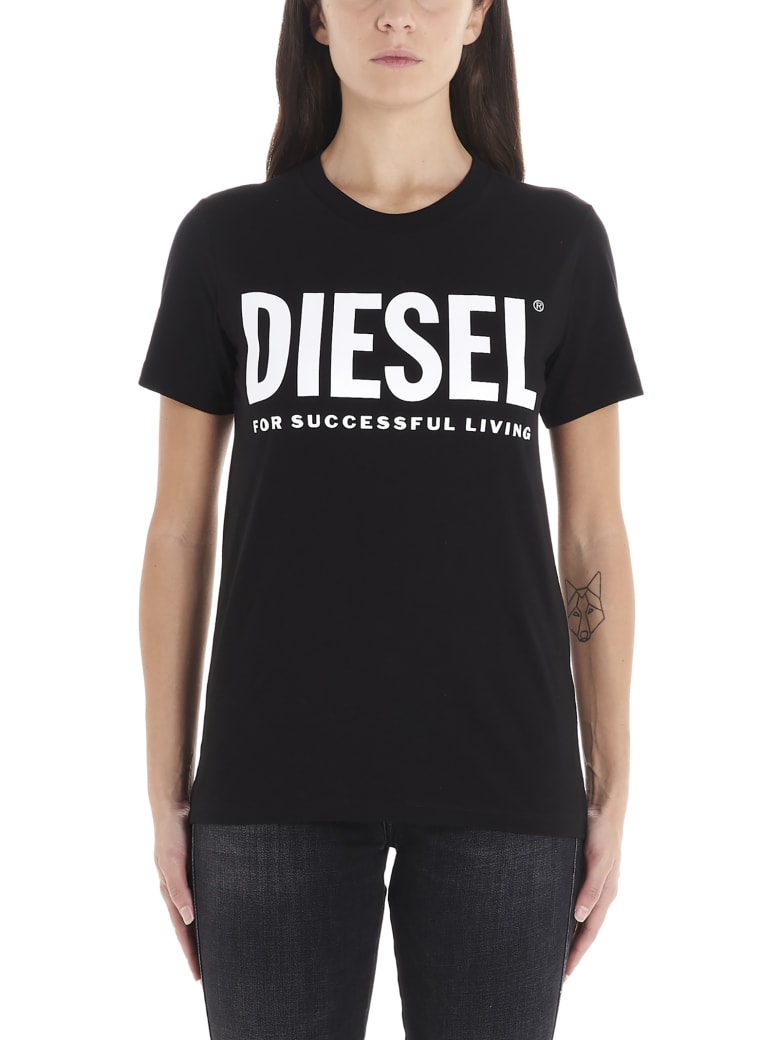 Diesel 'sily Wx' T-shirt - Black