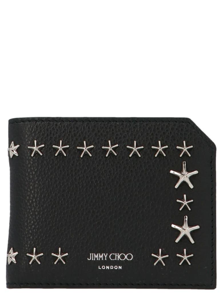 Jimmy Choo 'albany' Wallet - Black