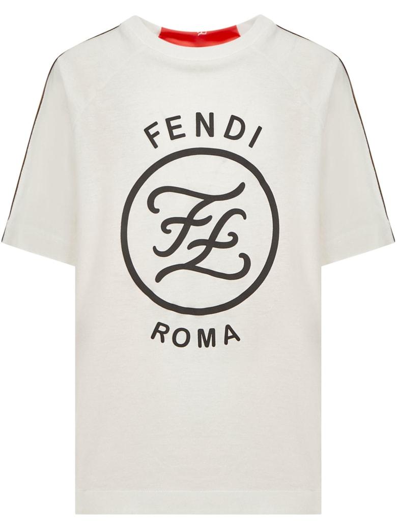 Fendi Kids T-shirt - White