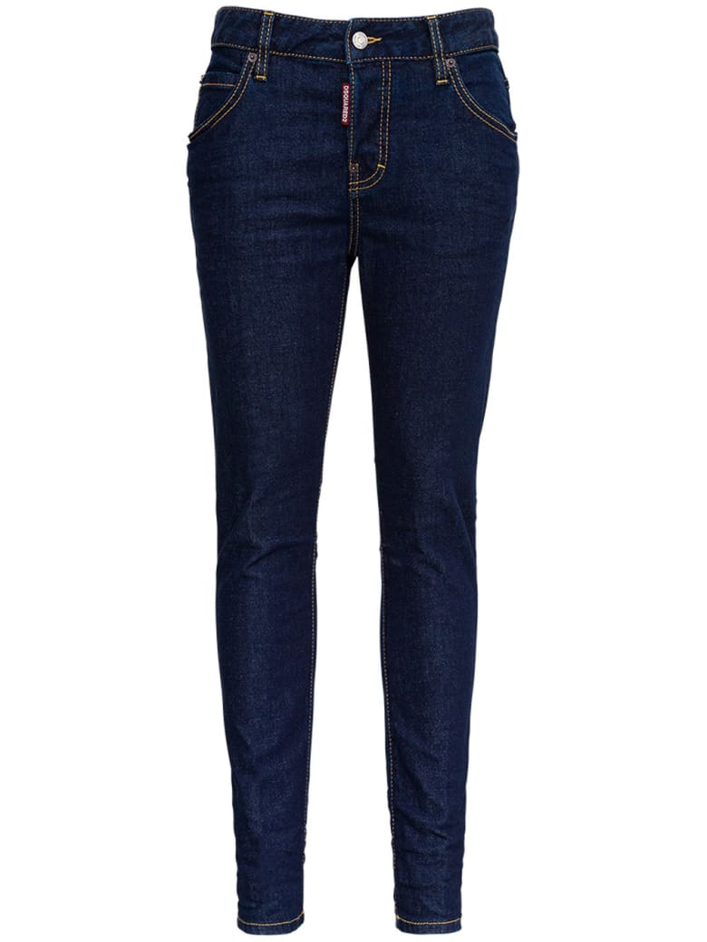 Dsquared2 Cotton Denim Jeans - Blu