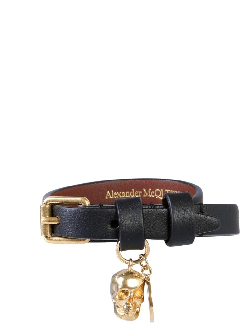 Alexander McQueen Double Turn Bracelet - NERO