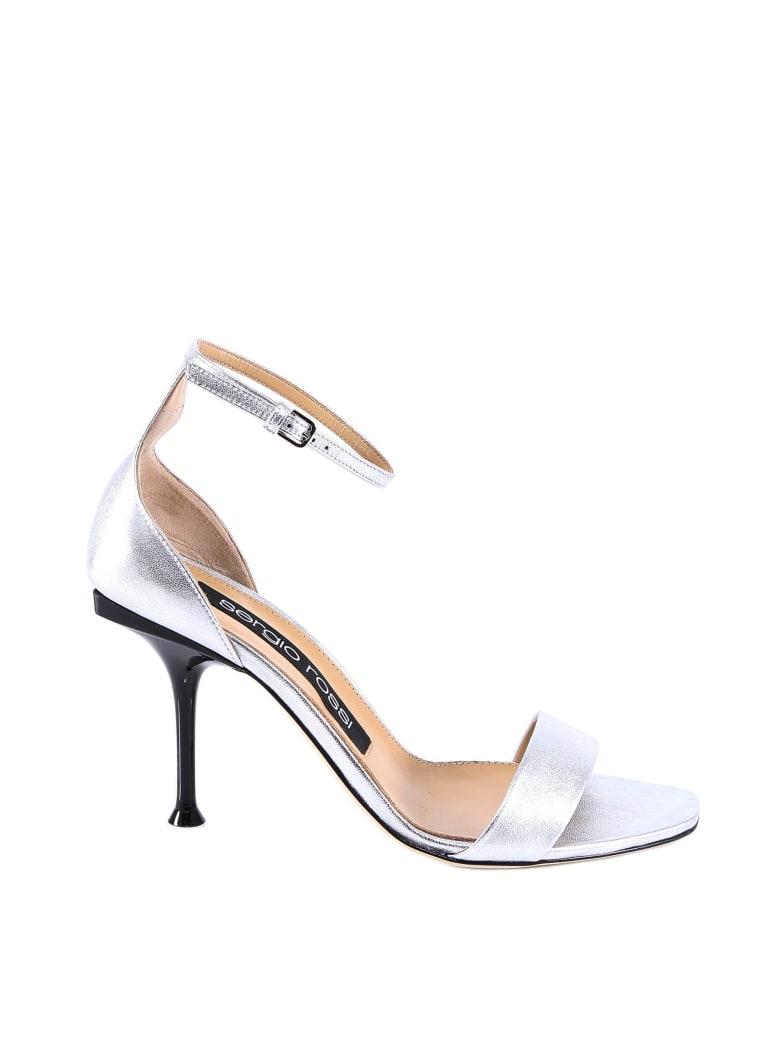 Sergio Rossi Sr Milano Sandals - Silver