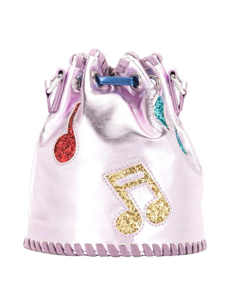 Stella McCartney Kids Music Notes Bucket Bag - Viola