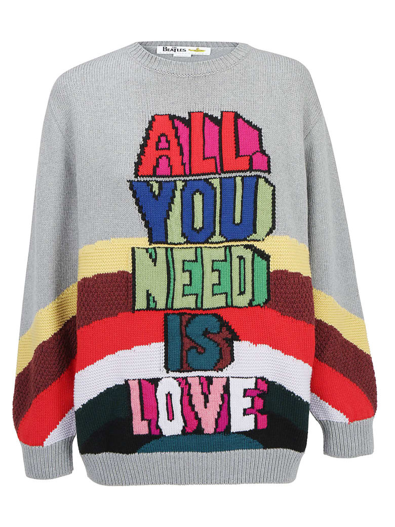 Stella McCartney b All You Need Is Love All Together Now Sweater - Grey colourway