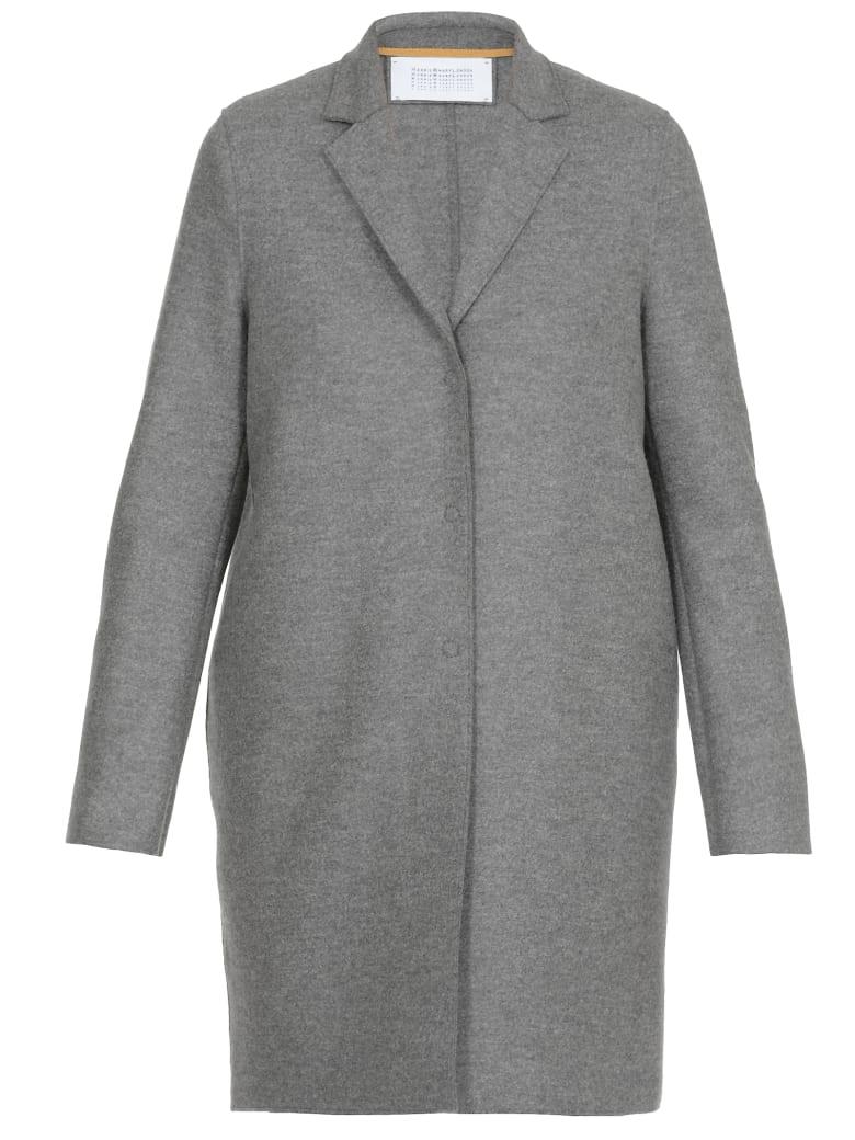 Harris Wharf London Wool Coat - GREY M.