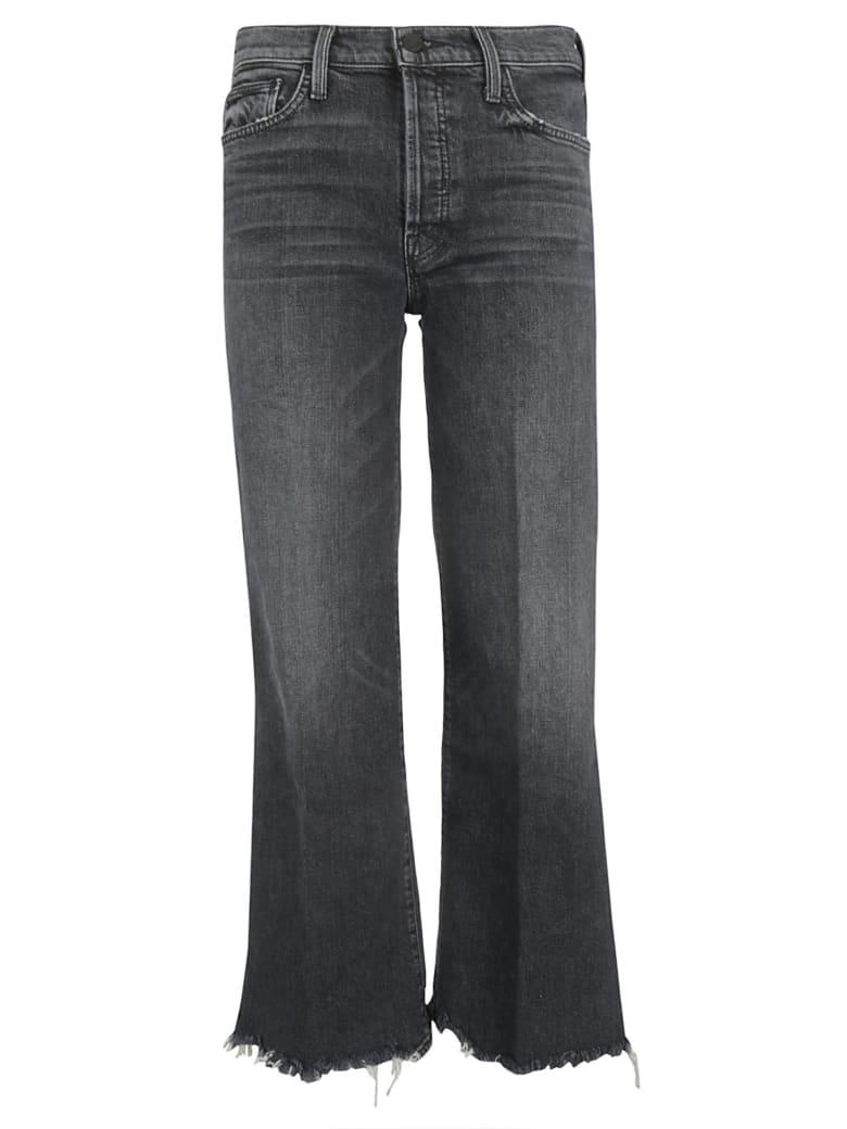 Mother Wide Leg Jeans - Black