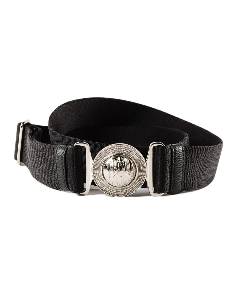 7c889f1bf011e Prada Engraved Logo Belt