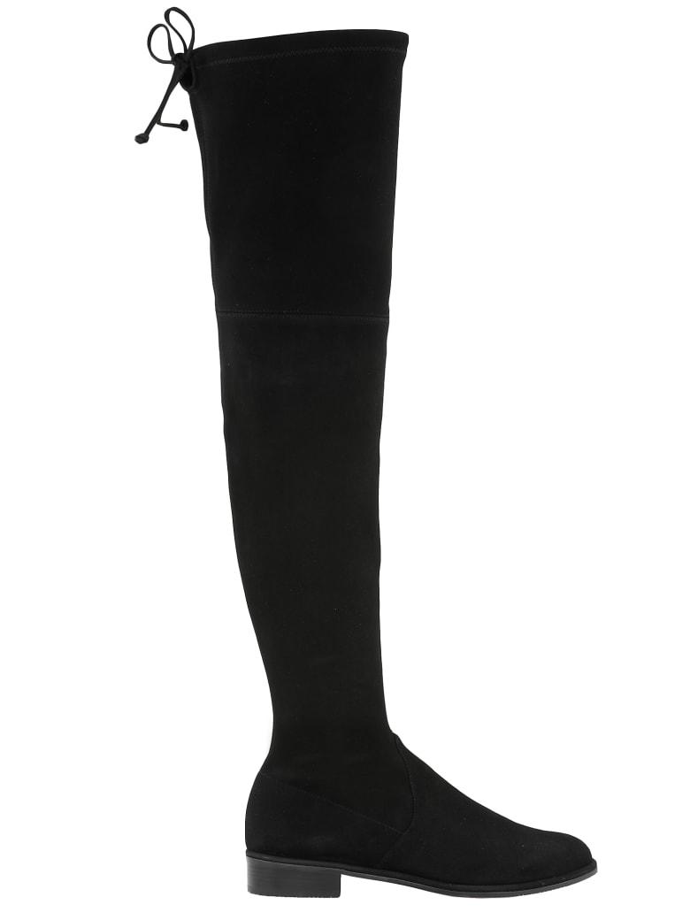 Stuart Weitzman Lowland Skimmer Boot - BLACK