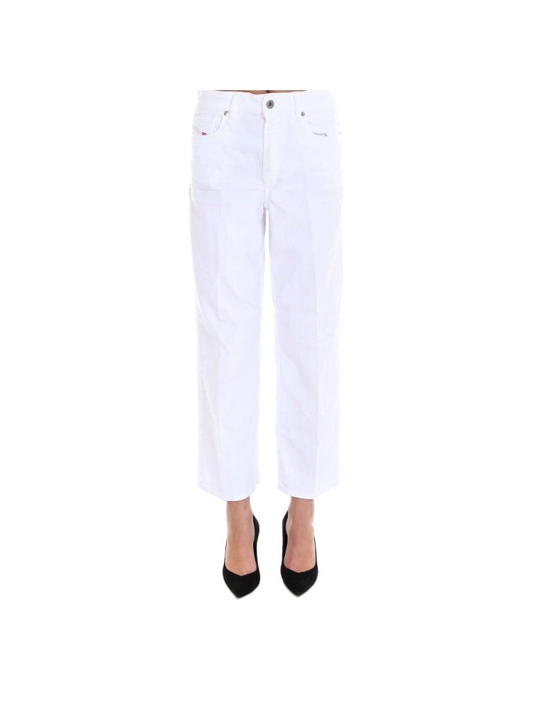 Diesel Widee Jeans - White