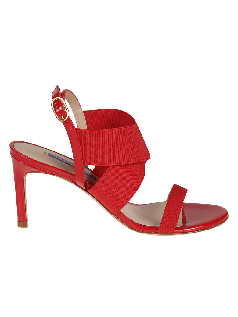 Stuart Weitzman Alana 75 Sandals - red
