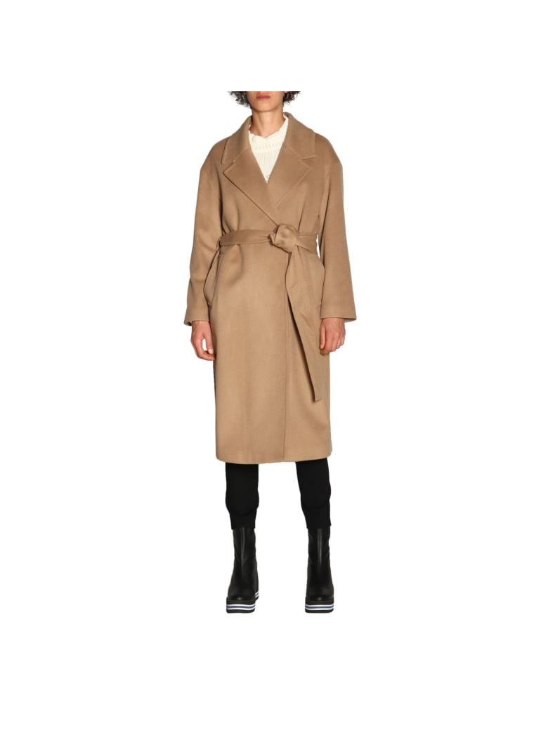 Paltò Palto' Coat Coat Women Palto' - camel
