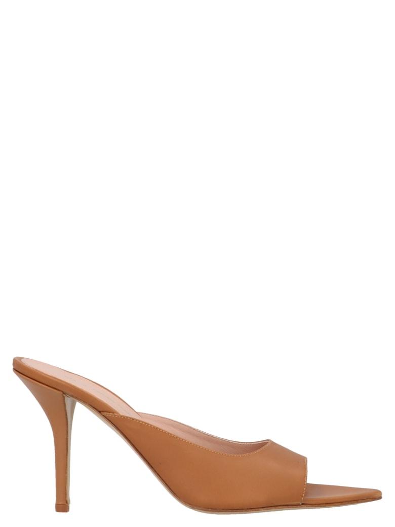 GIA COUTURE 'perni 04' Collab. Pernille Teisbaek Shoes - Marrone