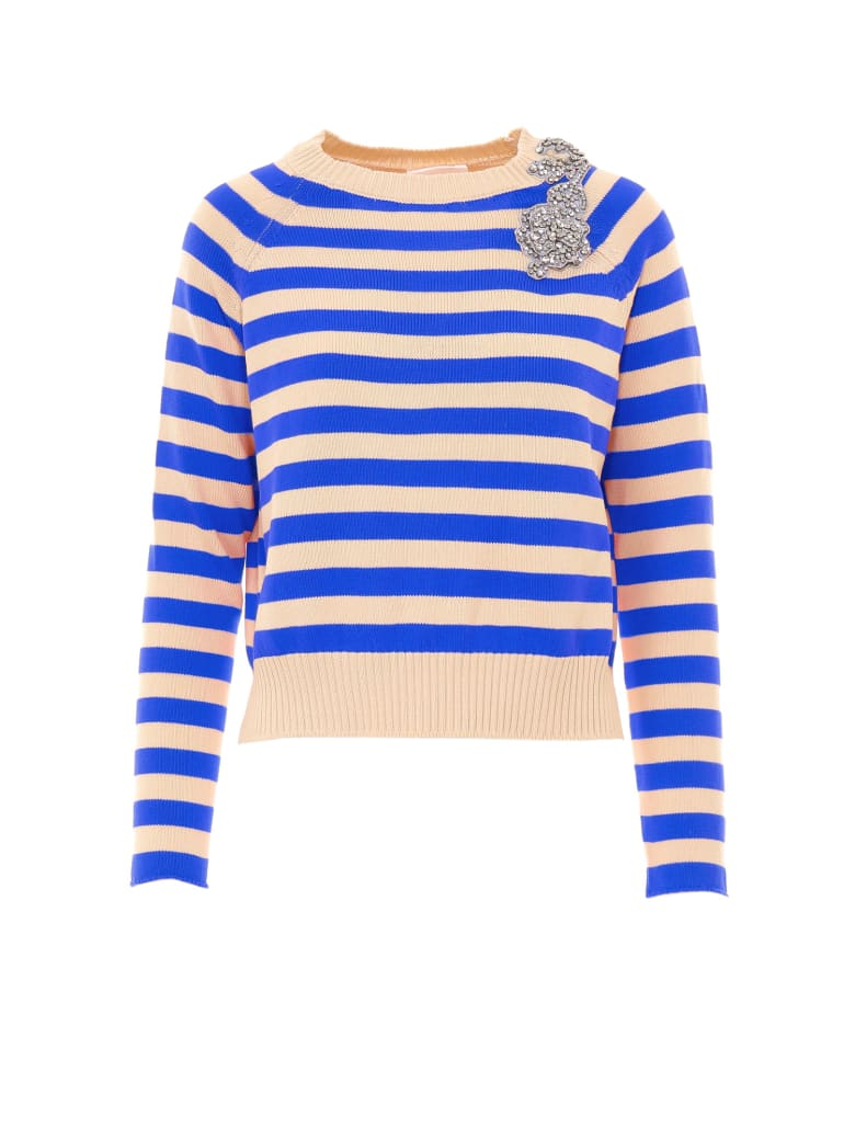 SEMICOUTURE Sweater - Blue
