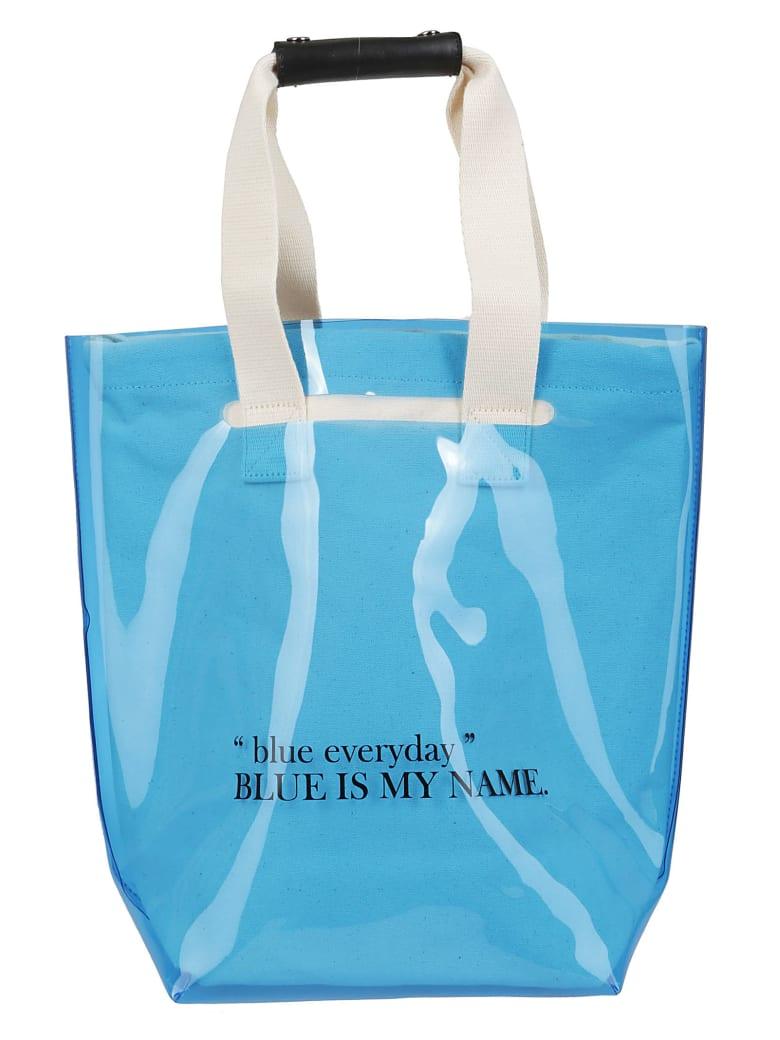 SJYP Two Way Shopper Bag - Blu oceano