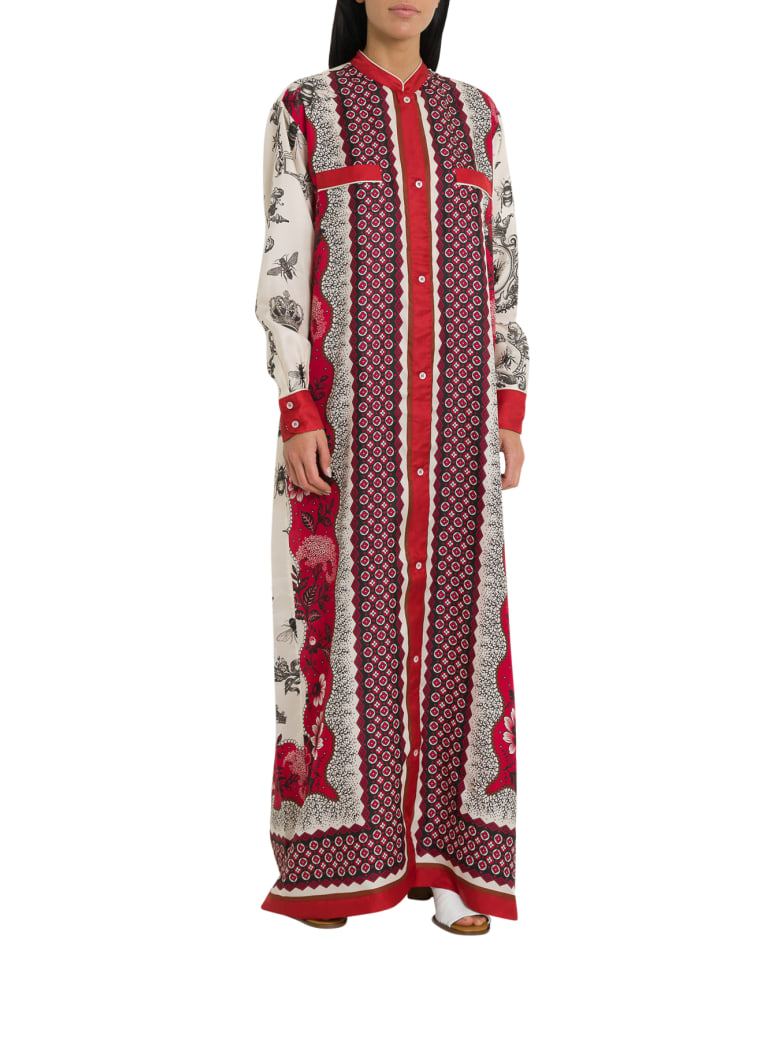 For Restless Sleepers Galene Pinafore Dress - Rosso