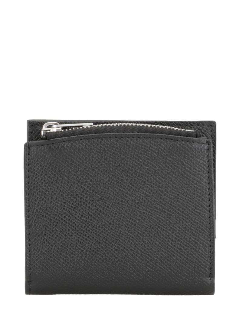 Maison Margiela Leather Wallet - BLACK