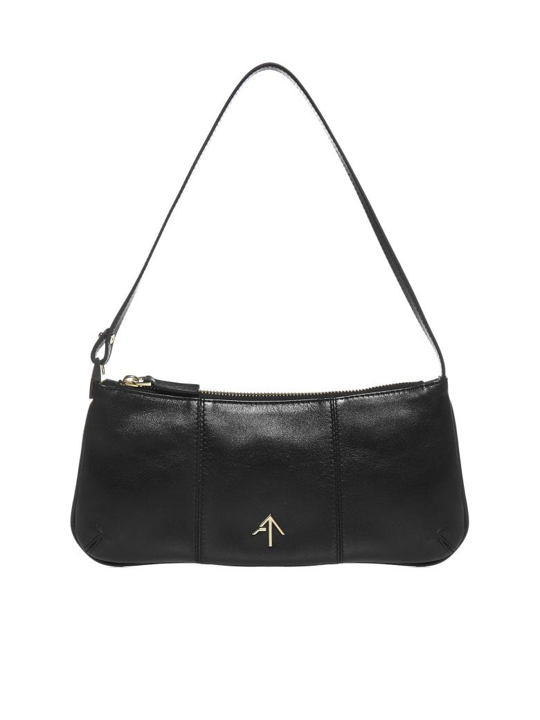 MANU Atelier Pita Leather Bag - Black
