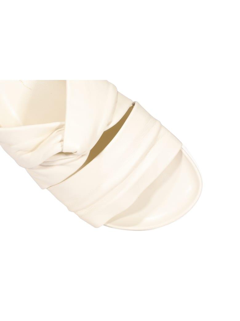 3.1 Phillip Lim Twisted Sandals - White