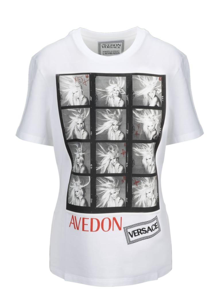 Versace Short Sleeve T-Shirt - White