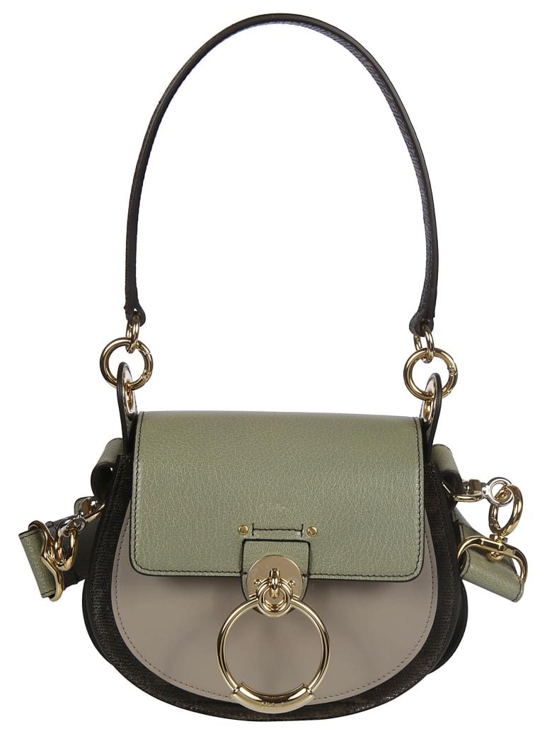 Chloé Logo Shoulder Bag - N Antique Green