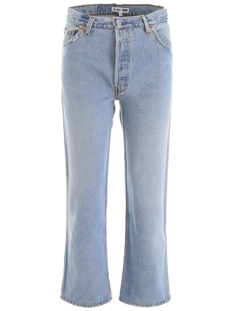 RE/DONE High-waisted Jeans - INDIGO (Blue)