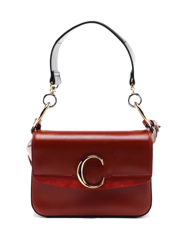 Chloé C Bag Small - S Sepia Brown