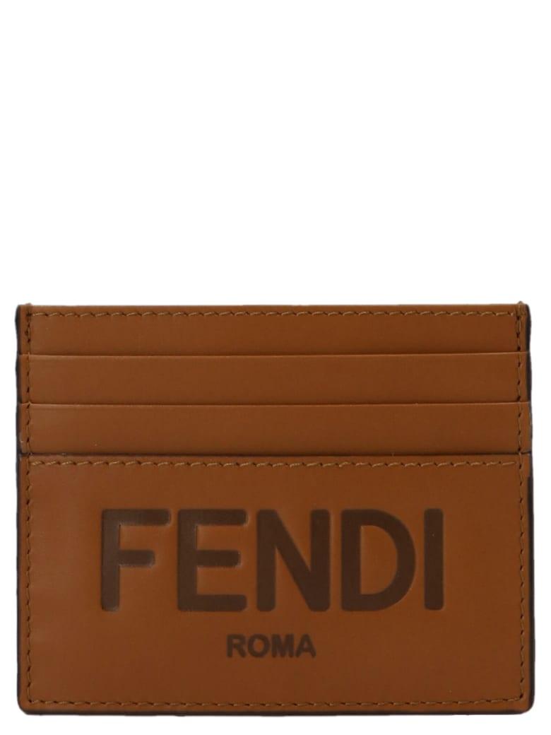 Fendi Cardholder - Brown