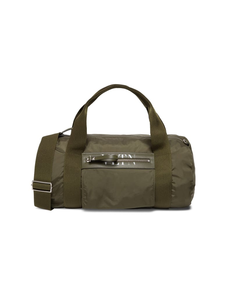 Valentino Garavani Boston Nylon Handbag - Green