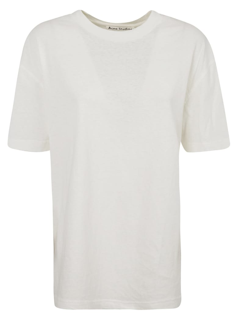 Acne Studios Back Logo Detail T-shirt - White