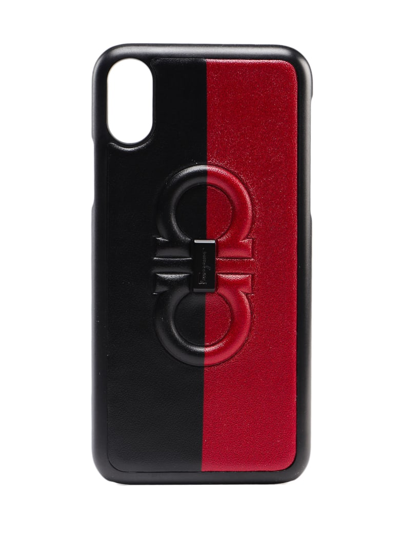 Salvatore Ferragamo Firenze Logo Phone Cover - Nero