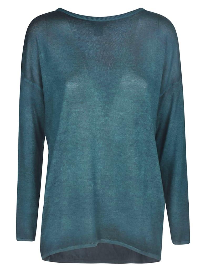 Avant Toi Classic Plain Sweater - Pavone
