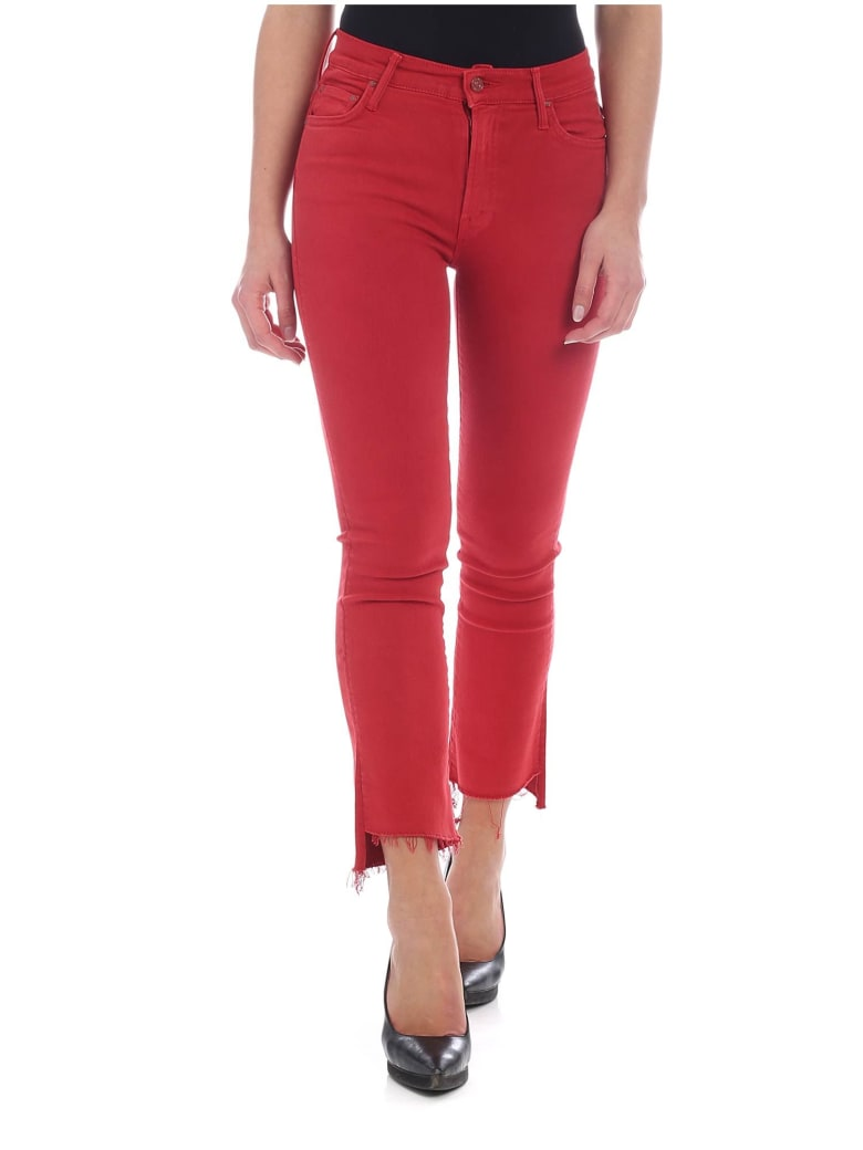 Mother - Step Jeans - Red