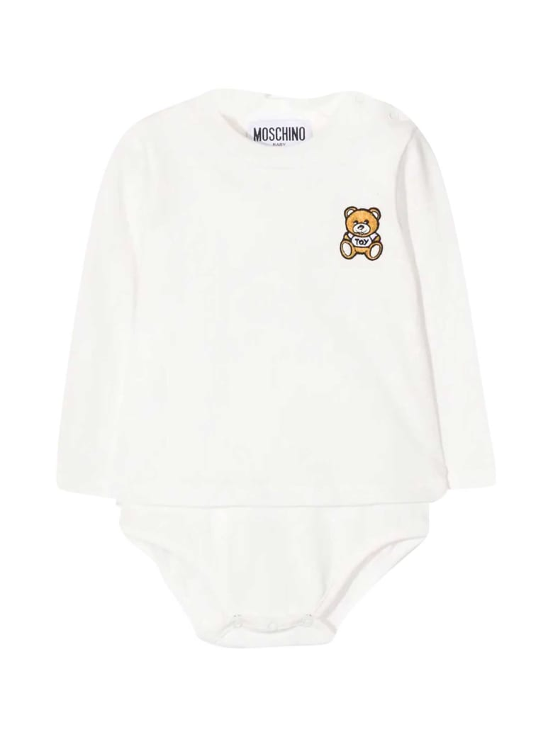Moschino Newborn White Body - Bianca