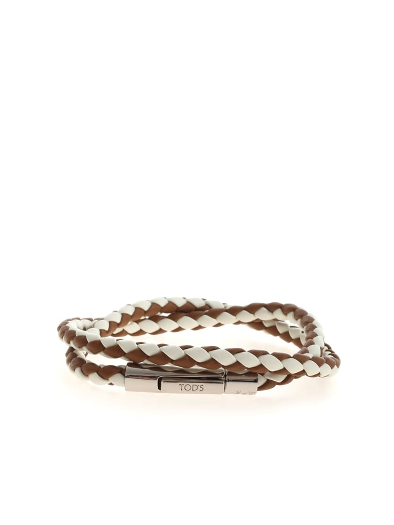 Tod's Bracelet - White/brown