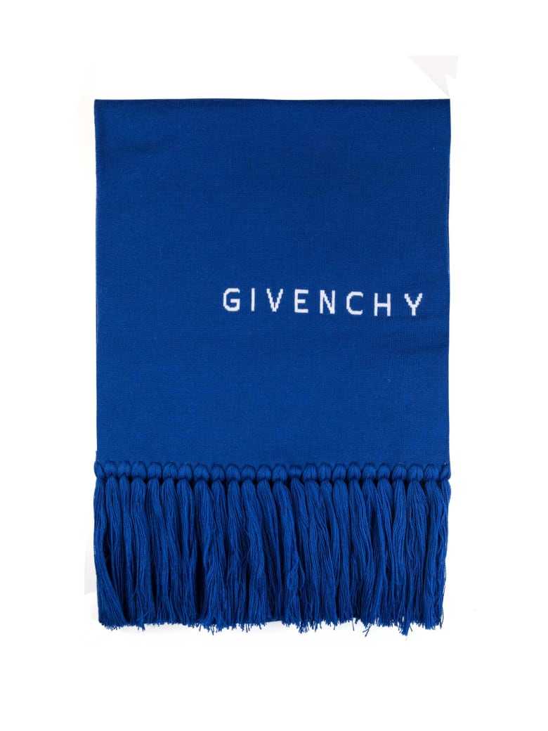 Givenchy Scarf - Blue