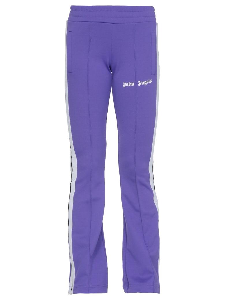 Palm Angels Tech Fabric Jumpsuit - PURPLE WHITE