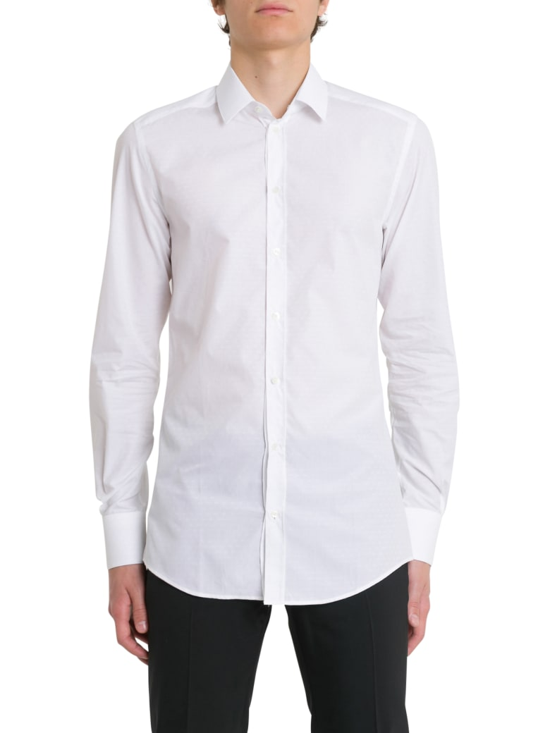 Dolce & Gabbana Monogram Shirt - Bianco