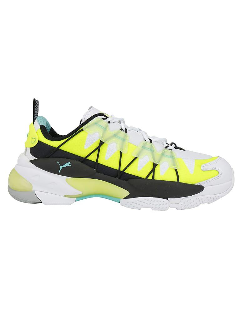 Puma Lqd Cell Omega Lab Sneakers - Puma white/yellow alert
