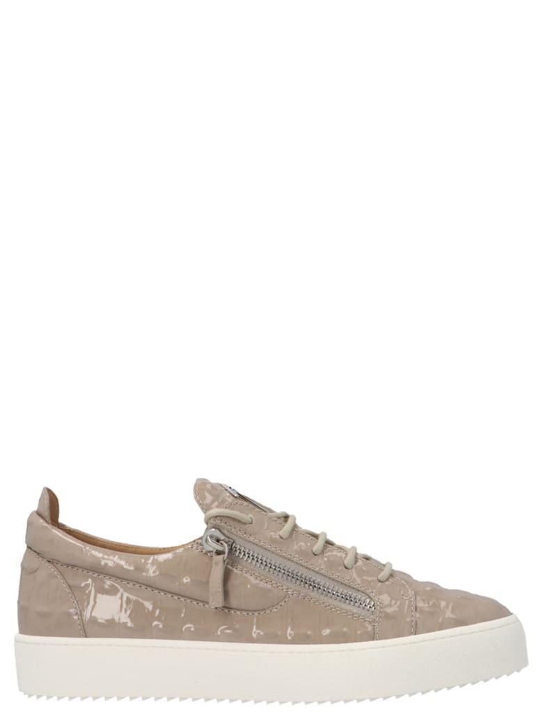 Giuseppe Zanotti 'may London' Sneakers - Gold