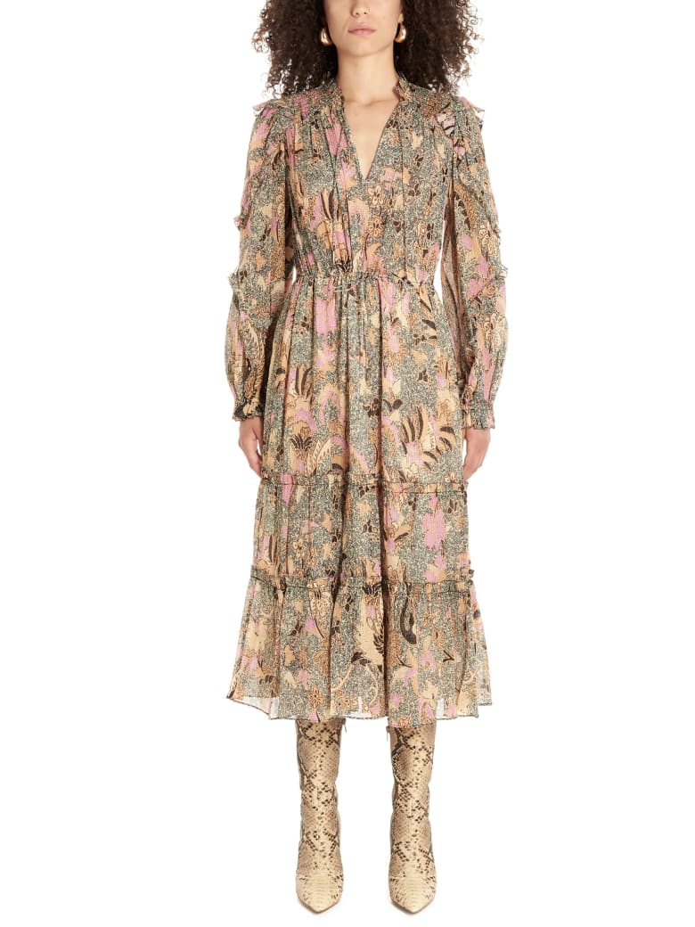 Ulla Johnson 'paola' Dress - Multicolor