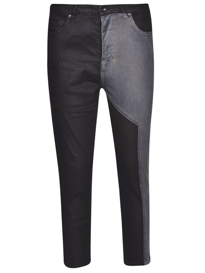DRKSHDW Contrast Panel Jeans - Combo