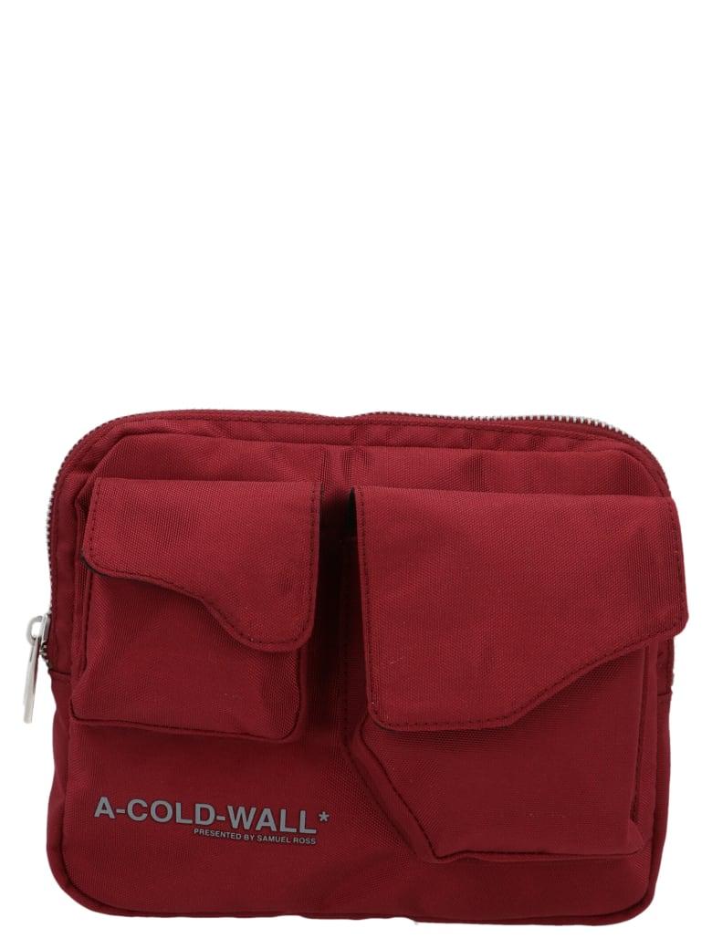 A-COLD-WALL 'abdoman' Bag - Burgundy
